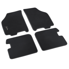 Velours-Fußmatten für Lancia Ypsilon