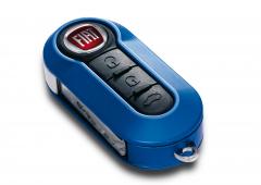 Set Barcode-Autoschlüsselcover für Fiat 500