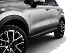 Bronzefarbene Seitenabschlüsse für Türen für Fiat 500X