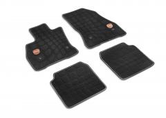 Velours-Fußmatten mit 500-Logo