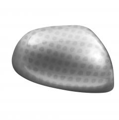 Set silberne Seitenspiegelkappen mit Technics-Effekt
