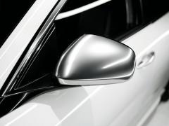 Spiegelkappen, Chrom satiniert für Alfa Romeo