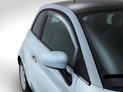Windabweiser vorn für Fenster für Fiat 500