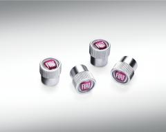 Kappen für Reifenventile mit Fiat-Logo für Fiat