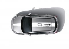 Weißer Dach- und Motorhaubenaufkleber