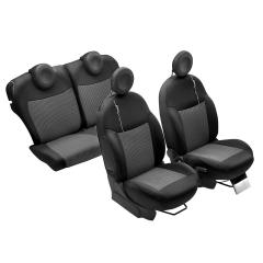 Sitz-Schonbezüge mit 500-Logo für Fiat 500