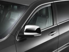 Getönte Windabweiser für die hinteren Fenster für Jeep Grand Cherokee