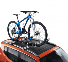 Vertikaler Fahrrad-Träger für Jeep