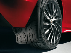 Hintere Schmutzfänger mit Profilgrafik für Alfa Romeo Giulietta
