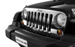 Verchromter Frontgrill für Pkw für Jeep Wrangler