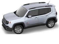 Satz Autoaufkleber mit U.S.A. Flagge für Jeep Renegade