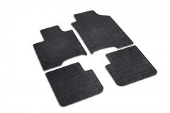 Panda Gummi-Fußmatten ohne Knöpfe Beifahrerseite *Siehe Fahrgestellnummern*