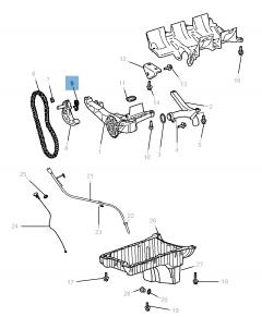 Einstellbarer Riemenspanner für Jeep