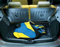 Schutzwanne für den Kofferraum für Fiat Panda