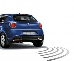Diebstahlschutzsystem, Alarm mit Bewegungsmeldern für Alfa Romeo Mito